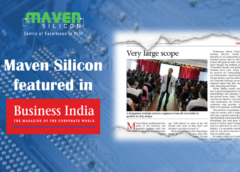 Maven Silicon featured in Business India Magazine