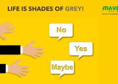 Life is Shades of Grey