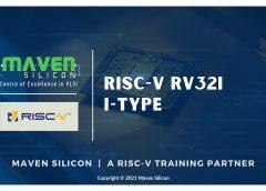 RISC-V RV32I I-Type   Maven Silicon